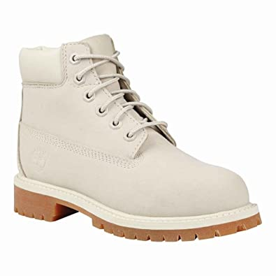 Timberland TB01990A148 Youth's 6-in Premium WP Boot Angora Monochrome 6 ...