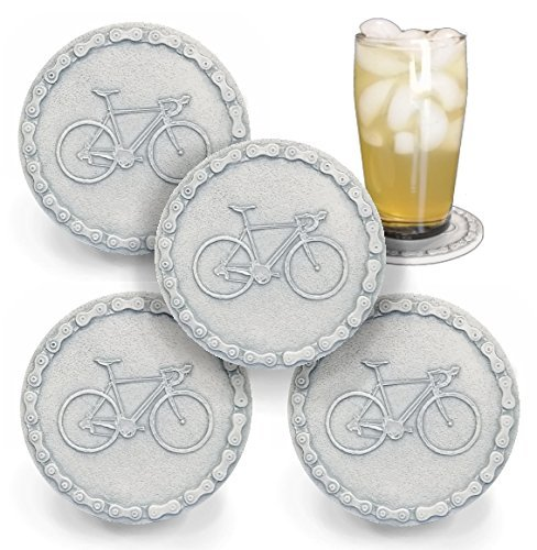 Bicycle Drink Coasters - Set of 4