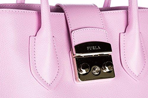 Tasche rosa Bag Furla Handtasche Damen Leder wvnqXnfSt
