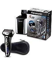Panasonic ES-LV95-S, Elektrische Droog-/Nat Scheerapparaat, Baardtrimmer Voor Mannen, Zwart/Zilver, 18.69 x 11.81 x 24.21 cm