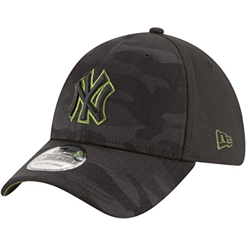 Cap Camo Flex Fit (New Era New York Yankees 2018 Memorial Day 39THIRTY Flex Hat L/XL)