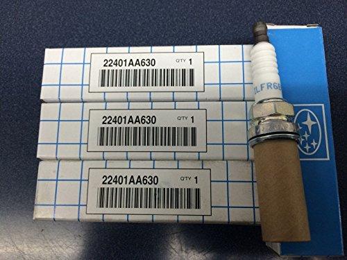 SUBARU OEM 2004-2007 Spark Plugs 22401AA630 Forester XT Sti Wrx Baja Turbo 4 pack