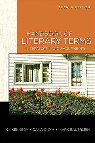 Books : Handbook of Literary Terms: Literature, Language, Theory (2nd Edition)