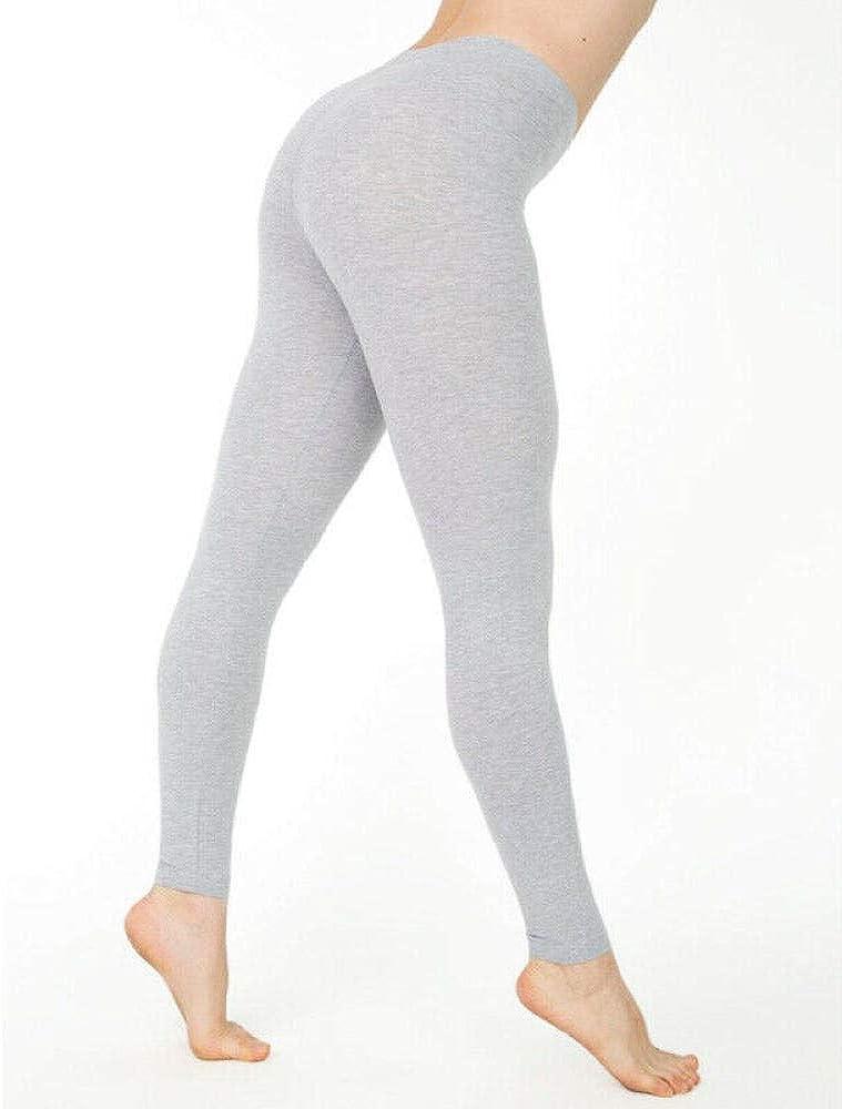 Leggings de algodón para Mujer Blanco Negro Gris Color sólido Pantalones Pitillo elásticos Casual Sport Fitness Leggings: Amazon.es: Ropa y accesorios