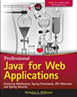 Professional Java for Web Applications Front Cover