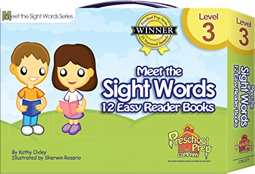Meet the Sight Words - Level 3 - Easy Reader Books (boxed set of 12 books)