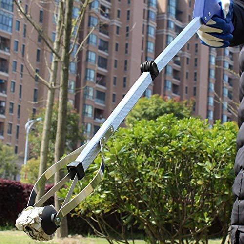 BeGrit Reacher Grabber Pinza telescopica Pieghevole by Healthcare Reaching Aid Pieghevole Braccio Lungo Reaching Claw Hand Grabber Trash Pick-up Tool 81 cm (81,3 cm) -2 Confezione