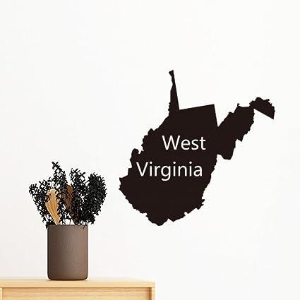 amazon com virginia the united states of america usa west mapimage unavailable