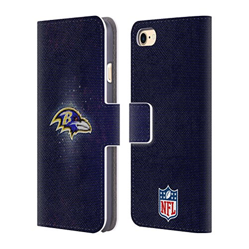 - Official NFL LED 2017/18 Baltimore Ravens Leather Book Wallet Case Cover for iPhone 7 / iPhone 8