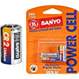 GE/Sanyo CR2 Photo Lithium Battery, 2-Pack (Discontinued by Manufacturer)