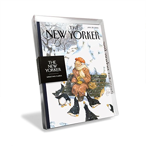 The New Yorker Magazine Cover Feeding The Penguins Holiday Cards (Box of 8) ()