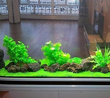 Be Good Fish Tank Planta de agua Acuático Decoración Artificial Acuario emulational Hierba para casa oficina Hotel Decor: Amazon.es: Productos para mascotas