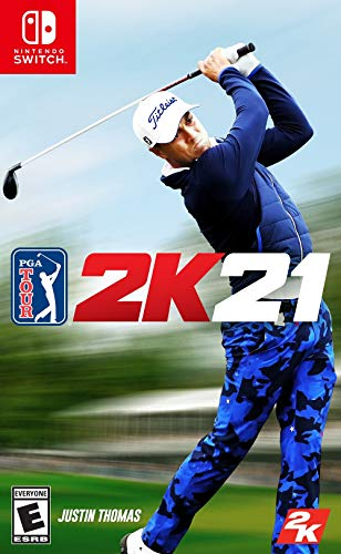 PGA Tour 2K21 Standard - Switch [Digital Code]