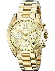 Michael Kors Womens Bradshaw Gold-Tone Watch MK5798