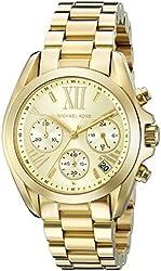 Michael Kors Women's MK5798 Bradshaw Gold-Tone Stainless Steel Watch