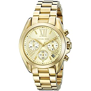 Michael Kors Mini Bradshaw Stainless Steel 36mm Chronograph Watch