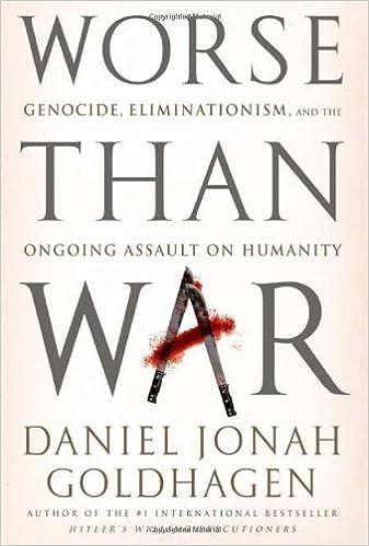Daniel Jonah Goldhagen - Worse Than War Audiobook Free Online