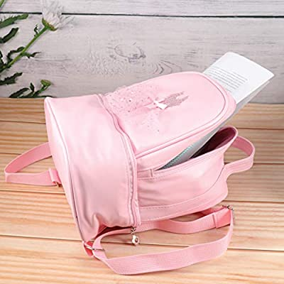TENDYCOCO Toddler Backpack Ballet Backpack Latin Ballerina Dance Bag for Little Girls | Kids' Backpacks