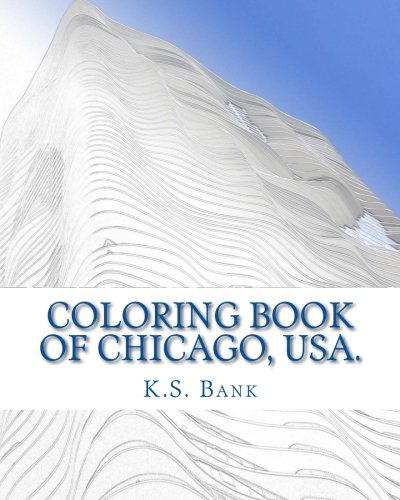 Price comparison product image Coloring Book of Chicago, USA.
