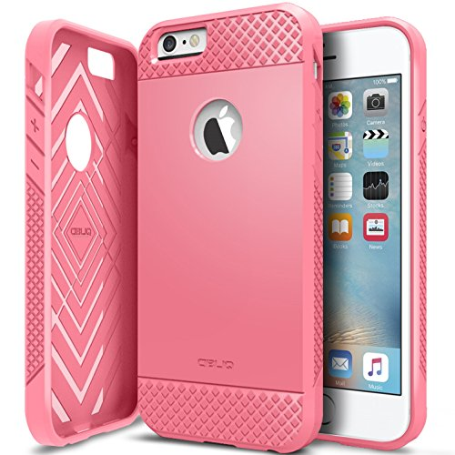 iPhone 6/6S Case, OBLIQ [Flex Pro][Pink] Thin Slim Fit Armor Sturdy Bumper TPU Rubber Soft Flexible Shock Scratch Resist Protective Case for iPhone 6s (2015) & iPhone 6 ()