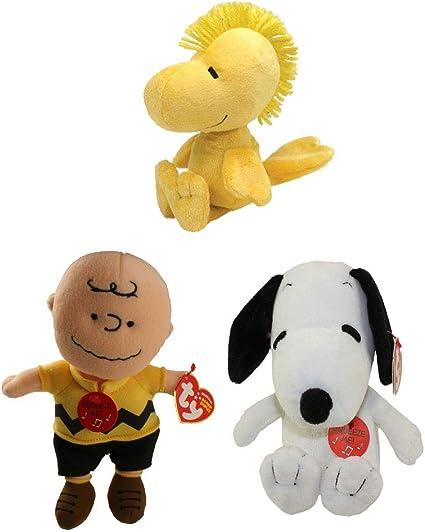 Ty Beanie Buddies Snoopy Plush