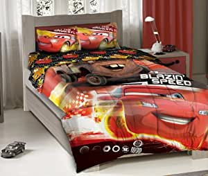 disney cars bedroom disney pixar cars blazing speeding duo bedding 11441