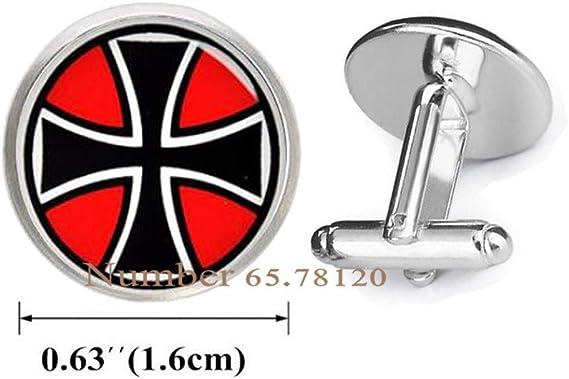 Maltese Cross Men/'s Cufflinks Cuff Links Set