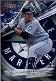 2016 Bowman's Best #13 Dae-Ho Lee Seattle Mariners Baseball Card in Protective Screwdown Display Case