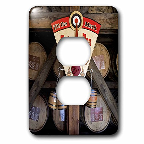3dRose lsp_90417_6 Kentucky, Makers Mark Bourbon In Wood Distillery Us18 Lno0001 Luc Novovitch 2 Plug Outlet Cover