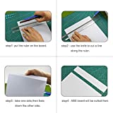 ABS0905 8pcs 0.5mm Thickness 200mm x 250mm White