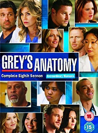 Amazon.com: grey\'s anatomy - season 08 (6 dvd) box set dvd Italian ...