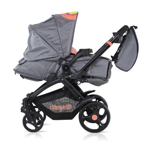 Chipolino VIP cochecito combinado de bebé Perfecta coral ...