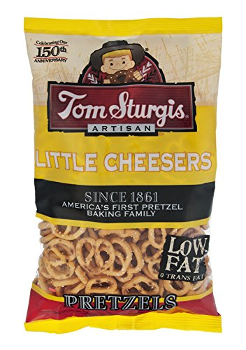 Tom Sturgis Artisan Little Cheesers Pretzels 11 oz. Bag (3 - Store Find Toms A