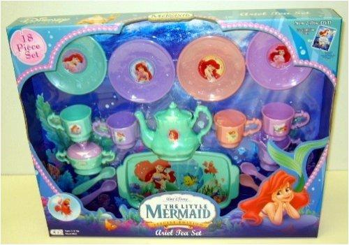 The Little Mermaid Ariel Tea Set ~ 18 Pieces