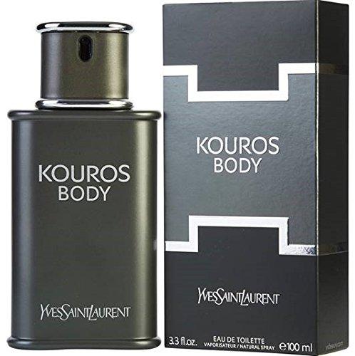8e5c46f54a Amazon.com   Yves Saint Laurent Kouros Silver Men s Eau de Toilette ...