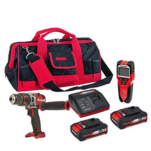 Furadeira,multi-detector,bolsa,kit bateria einhell