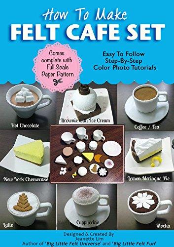 How To Make Felt Cafe Barista Play Set (Felt Patterns