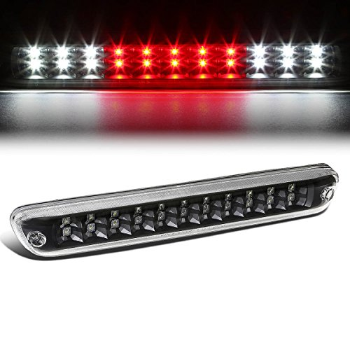 For Colorado/Canyon GMT355 High Mount Dual Row LED 3rd Brake/Cargo Light (Black Housing Clear Lens)