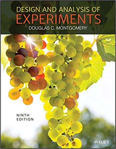 Edition pdf of and design analysis 7th experiments