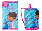 Disney Doc McStuffins Indoor Slumber Sleeping Bag For Kids w/Carry Drawstring
