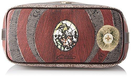GATTINONI Gplb026 - Bolsos maletín Mujer Gris (Tibetan)