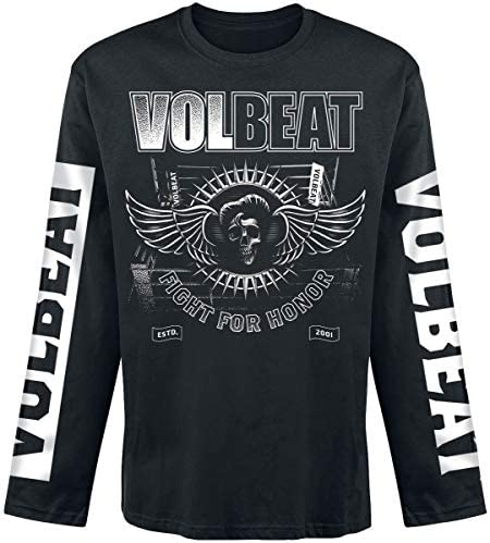 Volbeat Fight for Honor Männer Langarmshirt schwarz Band-Merch, Bands