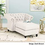 Phyllis Modern Glam Chesterfield Chaise