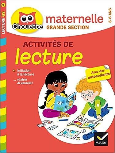 Collection Chouette Francais Activites De Lecture Gs 5 6