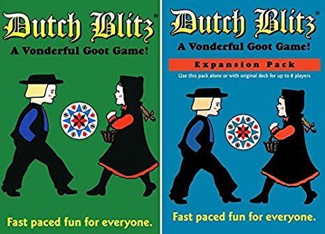 Amazon Com Dutch Blitz Original And Expansion Pack Set Card Game