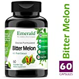 Bitter Melon - Support Blood Glucose, Improve Immune System Health, Boost Energy Levels - Emerald Laboratories (Fruitrients) - 60 Vegetable Capsules