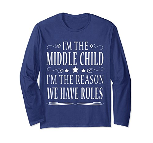 Sono Nella Manica Lunga T-shirt Middle L4CQ48t