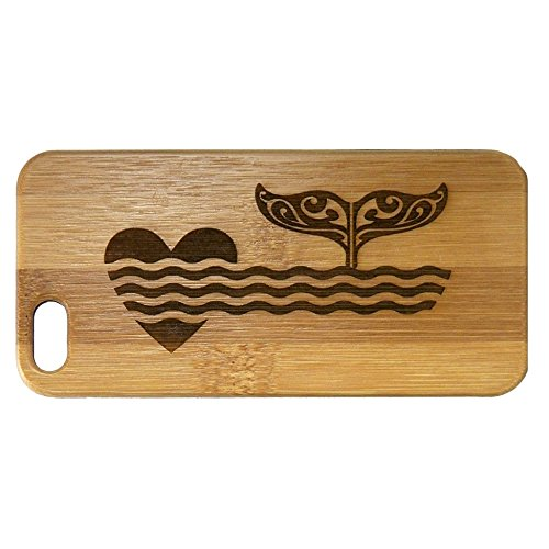 iPhone Eco Friendly Bamboo Whales Tribal product image