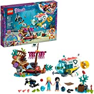LEGO Friends Dolphins Rescue Mission 41378 Building Kit with Toy Submarine and Sea Creatures, Fun Sea Life Pla