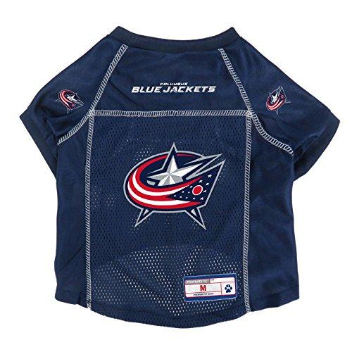 Littlearth NHL Columbus Blue Jackets Pet Jersey, Medium